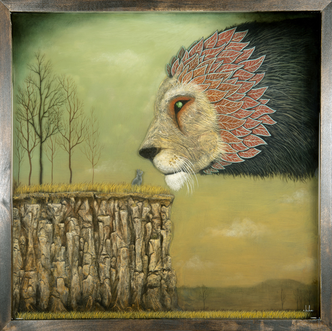 Preview: Souther Salazar, Marco Mazzoni, and Andy Kehoe @ Jonathan LeVine, NYC: AndyKehoe_MeetingofLords[4]_1.jpg